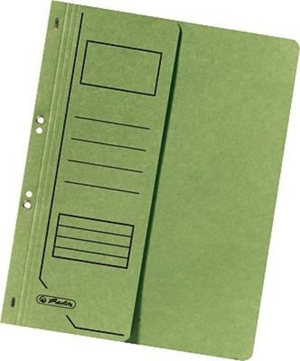 Herlitz Ösenhefter 1/2 Deckel/10837318 DIN A4 grün 250g