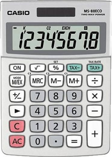 Casio Casio Tischrechner MS-88ECO 103 x 30,7 x 145 mm 8-stellig LCD-Anzeige (12-stellig) MS-88ECO