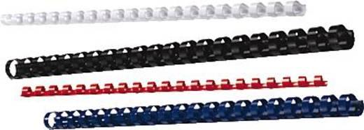 GBC Binderücken ibiCombs, 21 Ringe, 12mm 95 Blatt schwarz/4028177 Inh.100