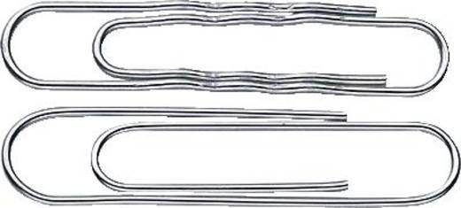 Aktenklammern/170124 77mm verzinkt rund gewellt Inh.100