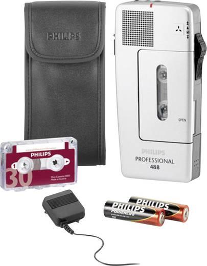 Analoges Diktiergerät Philips Pocket Memo Professional 488 Silber