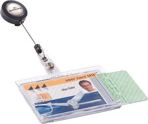 Durable 8224-19 Ausweishalter Verwendung für Papiergrößen=86 x 54 mm (B x H) 10 St./Pack.