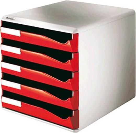 Leitz Bürobox 5 Schübe/5280-00-25 291x352x292mm rot