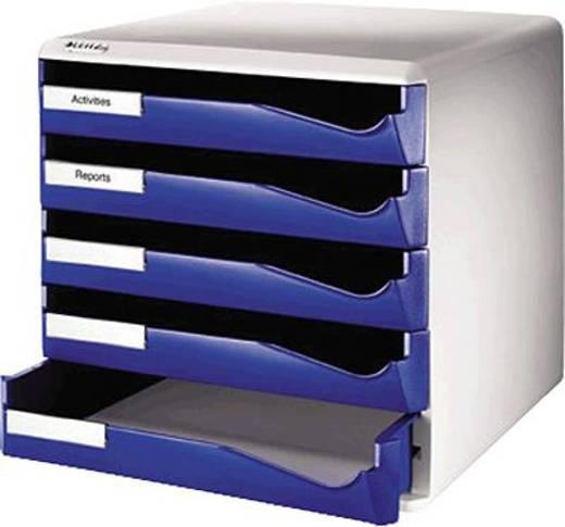 Leitz Bürobox 5 Schübe/5280-00-35 291x352x292mm blau