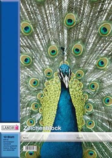 LANDRÉ Zeichenblöcke/390301006 DIN A3 100 g/qm Inh.10 Blatt