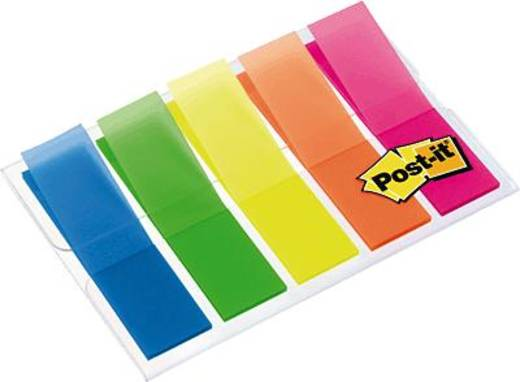 Post-it Index transparent Film/683HF5 11,9x43,2 mm Inh.100