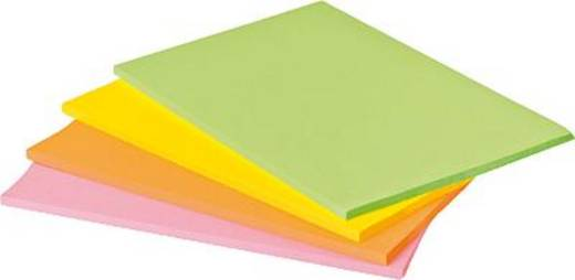 Post-it Haftnotiz 7100043258 203 mm x 152 mm Neongrün, Neonorange, Ultrapink, Ultragelb 180 Blatt
