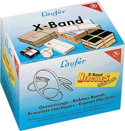 Läufer Gummibänder Rondella X-Band im Karton (Ø x L) 250 mm x 100 mm 512592 Rot, Gelb, Lila, Grün 23 St.