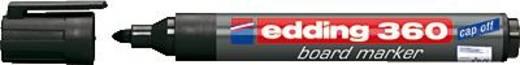Edding edding Boardmarker 360/4-360001 schwarz Marqueur pour tableau 4-360001 noir