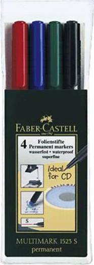 Faber-Castell Multimark Permanent S/152304 sortiert Inh.4