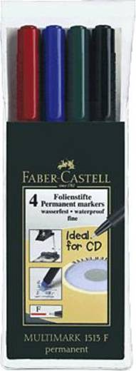 Faber-Castell Multimark Permanent F/151304 sortiert Inh.4