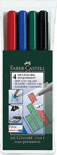 Faber-Castell Multimark Non-Permanent F/151404 sortiert Inh.4