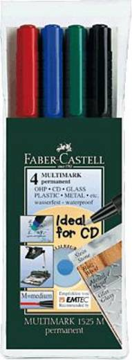 Faber-Castell Multimark Permanent M/152504 sortiert Inh.4