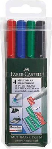 Faber-Castell Multimark Non-Permanent M/152604 sortiert Inh.4