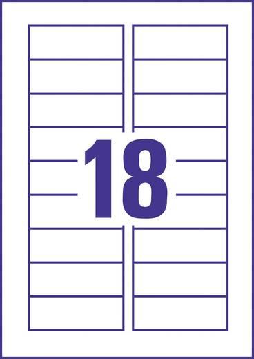 Avery Zweckform InkJet-Magnetschilder/J8871-5 78x28 mm weiß Inh.90