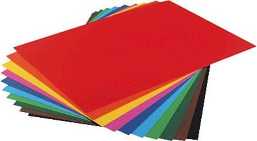 folia Fotokarton 50x70cm, zitronengelb/6112 300g Inh.10 Bogen