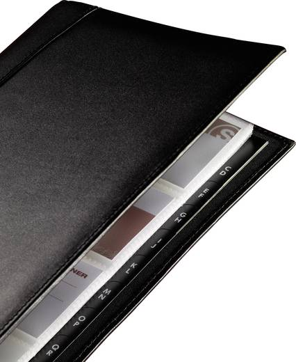 sigel Visitenkartenringbuch Torino/VZ204 90x58 mm schwarz Inh.für 160 Karten