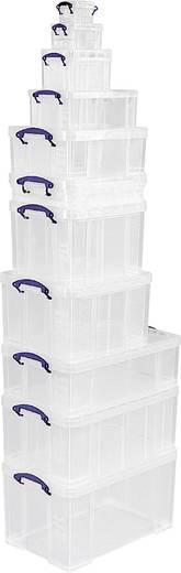 Really Useful Box Aufbewahrungsbox 64C Transparent 64 l (B x H x T) 710 x 310 x 440 mm