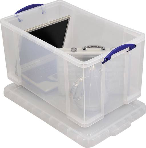 Really Useful Box Aufbewahrungsbox 84C Transparent 84 l (B x H x T) 710 x 380 x 440 mm