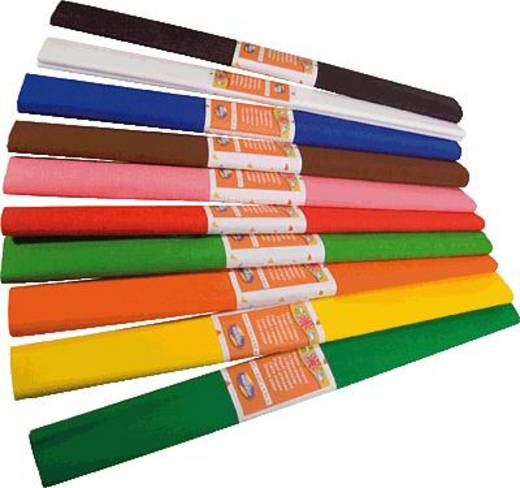 Clairefontaine Krepppapier orange/901058C 250x50 30g Inh.10