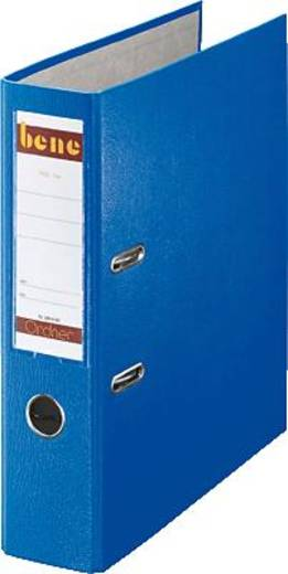 Bene Ordner DIN A4 Rückenbreite: 80 mm Blau 2 Bügel 291400BL