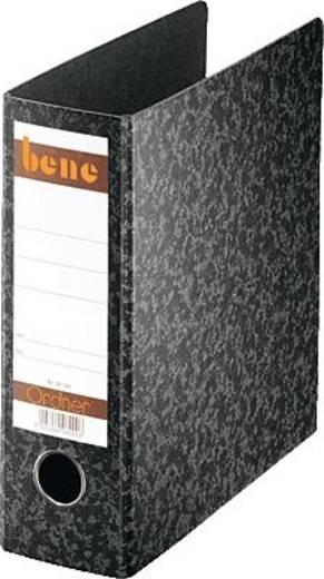 Bene Ordner A5 hoch/92100 schwarz Hartpappe