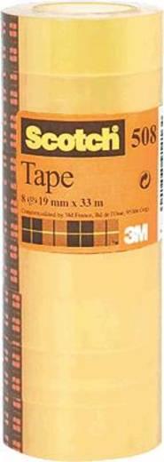 Klebeband 3M Transparent (L x B) 33 m x 19 mm Inhalt: 8 Rolle(n)