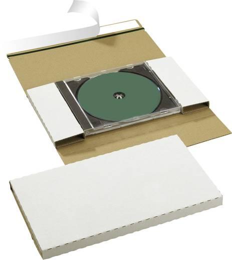 Smartboxpro CD/DVD-CASE einzeln /146180161 228x130x17 mm weiß ohne Fenster