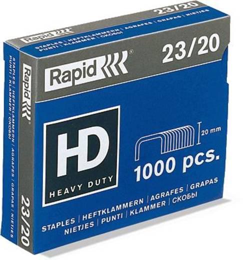 Rapid Heftklammer 23/20 supreme/20599805 23/15 verzinkt Heftklammern Inh.1.000