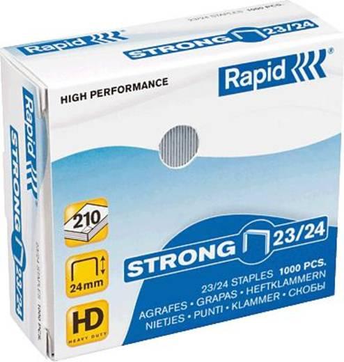 Rapid Heftklammer 23/24 supreme/20599815 verzinkt Inh.1000