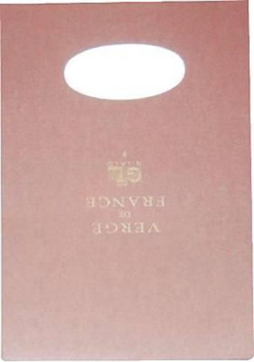 Lalo Block Vergé de France/12716L DIN A4 elfenbein 100 g/qm