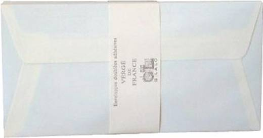 Lalo Umschläge Vergé de France/46116L DL elfenbein 100 g/qm Inh.25