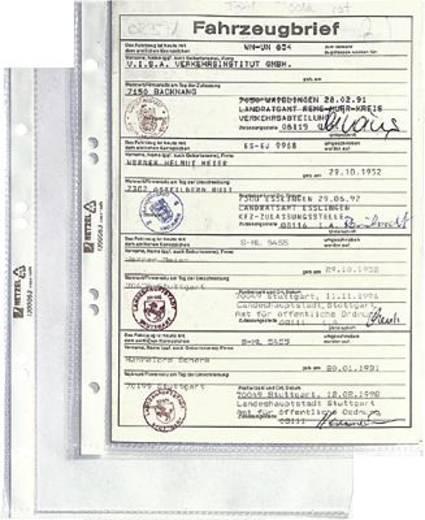 HETZEL Prospekthüllen DIN A5/1300063 glasklar PP 80my Inh.100