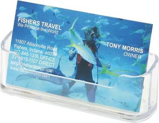 Deflecto Visitenkartenhalter/DE70101 96x35x45mm glasklar 1 Fach