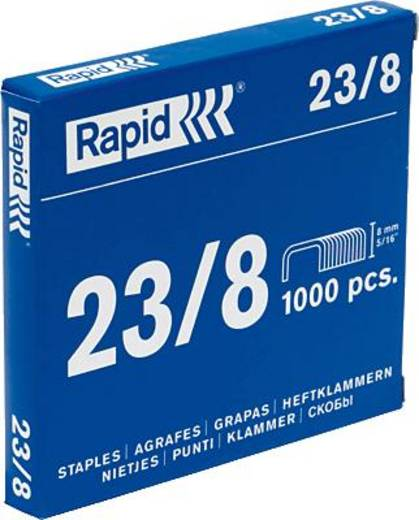 Rapid Heftklammer 23/8/23372510 verzinkt Inh.1000