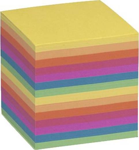 Folia Ersatzpapier für Zettelbox/9910-E-0 90x90x90 mm bunt