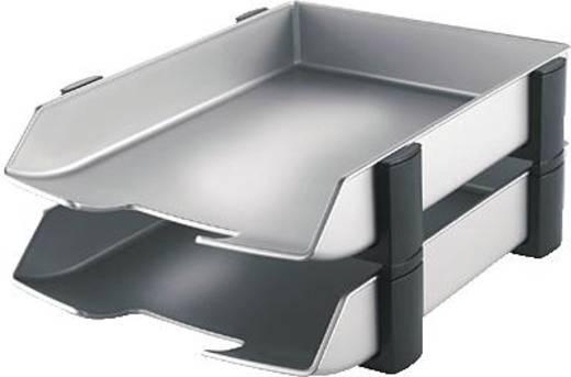 HAN Briefkörbe DELTA/2742-77 277x350x175mm silber/schwarz