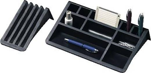 helit Schreibtisch-Organizer Butler/H6253795 BxTxH 407x198x72mm schwarz