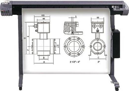 Heipa InkJet CAD Plotter-Papiere F725962, 91.4 cm x 50 m, weiß, 90 g/m², 1 Rolle