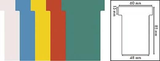 Exacompta Steckkarten/57700E weiß Inh.100