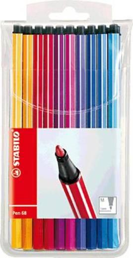 STABILO Pen 68, Fasermaler /6820PL 1 mm sortiert Inh.20