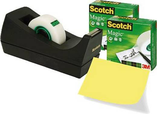 3M 7100040323 Tischabroller Scotch® Magic™ 810 Matt (L x B) 33 m x 19 mm 3 Rolle(n)