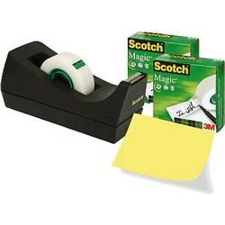 Desk tape dispenser 3M 7100040323, (d x š) 33 m x 19 mm, matná, 3 ks