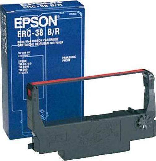 Epson Farbband 446712 Original Gruppe ERC38BR Passend für Geräte des Herstellers: Epson Schwarz, Rot 1 St.
