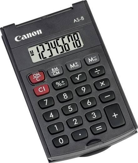 Taschenrechner Canon AS-8 Dunkelgrau batteriebetrieben