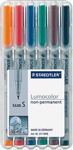 STAEDTLER Lumocolor non-permanent 6er Etui/311 WP6 sortiert Inh.6