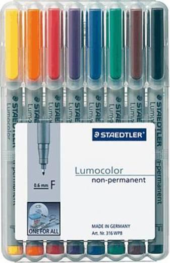 Staedtler Lumocolor non-permanent 8er Etui/316 WP8 F sortiert Inh.8