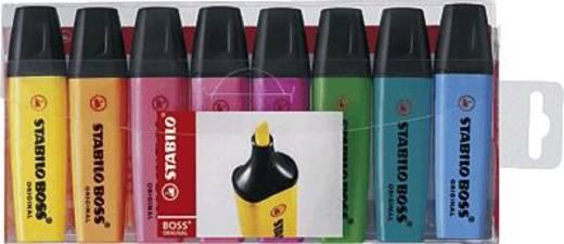 STABILO BOSS® ORIGINAL, Leuchtmarkierer/70-8 2 + 5 mm sortiert Inh.8
