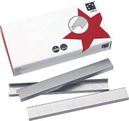 5 Star™ Heftklammern 24/6 vz verzinkt Inh.5000