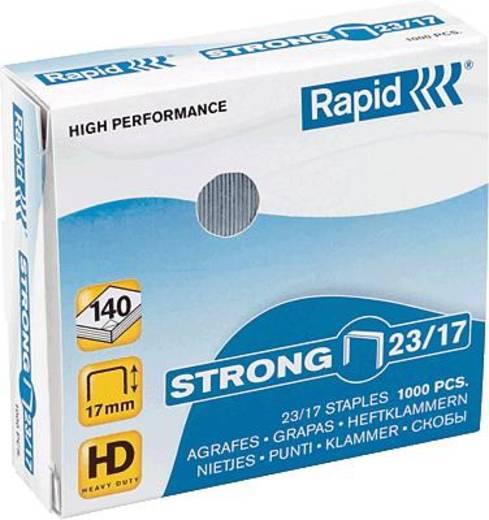 Rapid Heftklammer 23/17 supreme/20599804 verzinkt Inh.1000